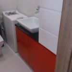 Meble łazienkowe lakierowane