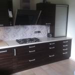 meble kuchenne lakierowane łowicz, meble do kuchni łowicz, kuchnia otwarta na salon łowicz