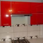 Czerwone meble kuchenne Skierniewice, meble kuchenne lakierowane czerwone Warszawa, meble kuchenne Skierniewice