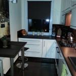 mała zabudowa kuchenna w bloku Żyrardów, meble kuchenne lakierowane Żyrardów, nowoczesne meble kuchenne Żyrardów