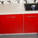 Estetyczne czerwone meble kuchenne Skierniewice, meble kuchenne lakierowane skierniewice, meble lakierowane czerwone