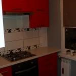 Nowoczesna mała kuchnia w bloku, mała kuchnia w bloku Skierniewice, Nowoczesne meble kuchenne Skierniewice