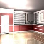 projekt kuchni z salonem, projekt mebli kuchennych, nowoczesne aranżacje kuchni