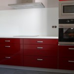 Nowoczesne meble kuchenne lakierowane