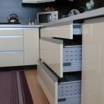 -projekt kuchni nowoczesnej rawa maz, pomysł na kuchnie, nowoczesne meble kuchenne lakierowane rawa maz,