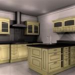 meble kuchenne stylowe, przykładowe aranżacje kuchni, stylowe meble kuchenne