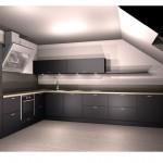 projekt kuchni galeria, projekt kuchni w bloku, nowoczesne kuchnie projekty