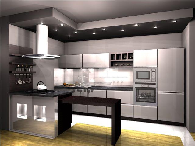 pomysł na kuchnie, projekt kuchni, projekt kuchni galeria