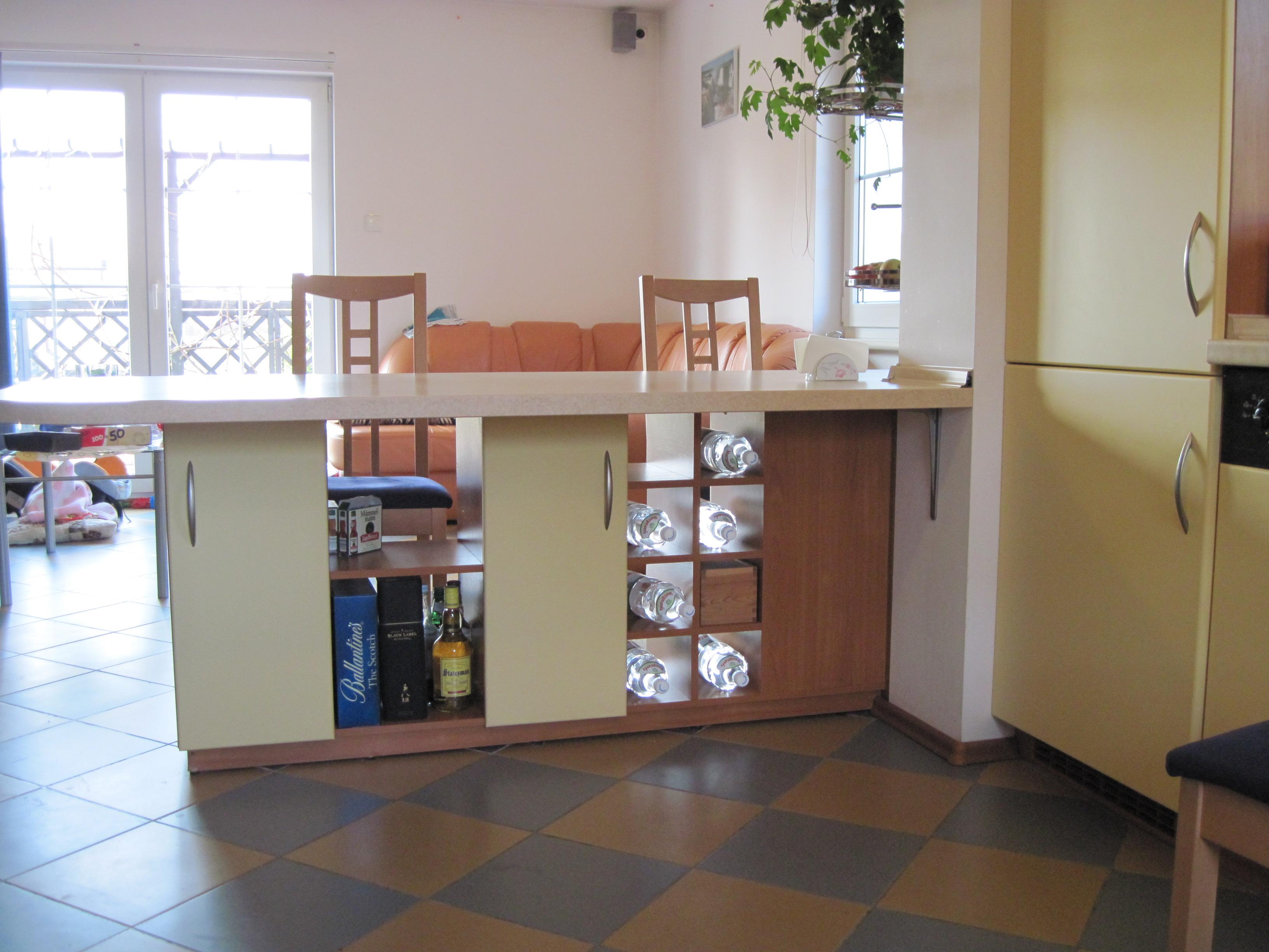 kuchnia otwarta na salon, kuchnie nowoczesne skierniewice, kuchnie nowoczesne   -> Kuchnia Z Barkiem Na Salon