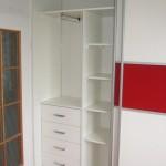 projekt szaf wnękowych, szafy wnękowe garderoby Żyrardów, szafy wnękowe na wymiar