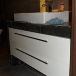 Szuflady w łazience, zabudowa mebli nowoczesnych Łódź, Meble na wymiar