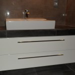 nowoczesna szafka pod umywalkę, szafki lakierowne, meble na wymiar lakier