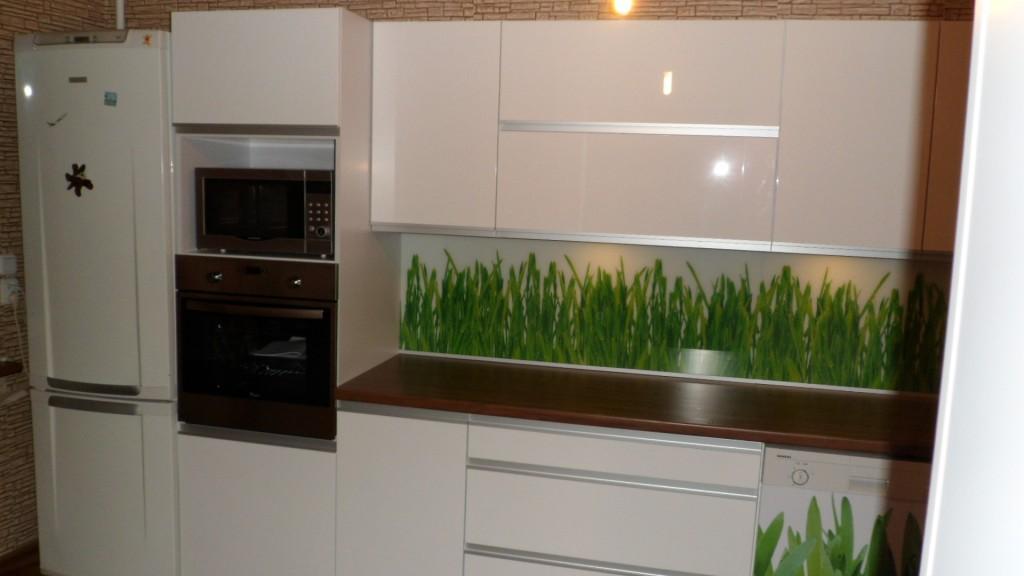 grafika na szkle kuchnie bia�e lakierowane warszawa