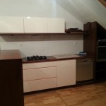 Montaż mebli kuchennych, skosy