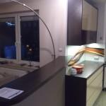 Zabudowa kuchenna na wymiar, jasne meble kuchenne lakierowane, lakierowane meble kuchenne Warszawa