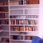 Meble na wymiar Warszawa, zabudowa na indywidualne zamówienie , biblioteka + rtv Warszawa