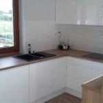 Meble kuchenne lakierowane białe